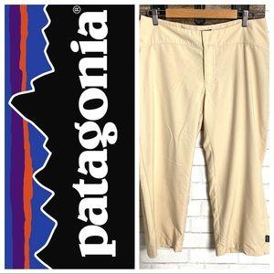 Patagonia Hiking Capri Pants Cream size 10